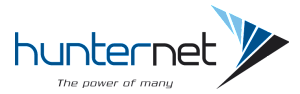 HunterNet logo
